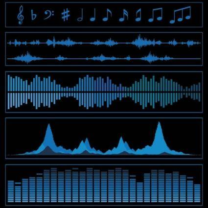free vector Audio band 01 vector