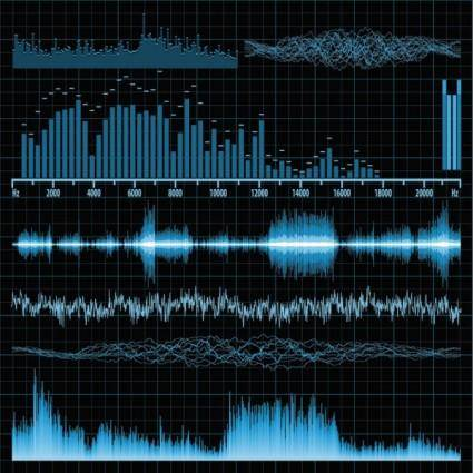 free vector Audio band 03 vector