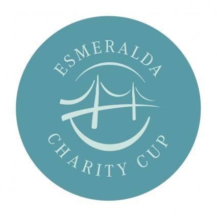 free vector Esmeralda charity cup