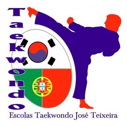 free vector Escolas de taekwondo jose teixeira