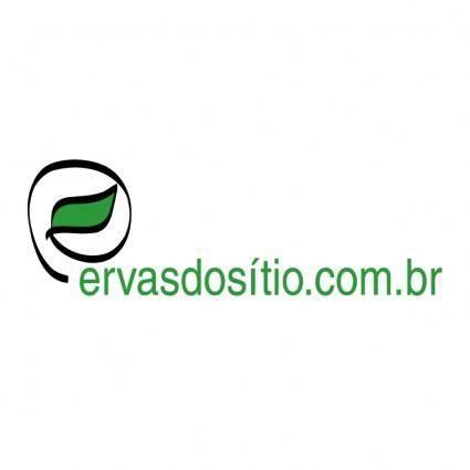 free vector Ervas do sitio