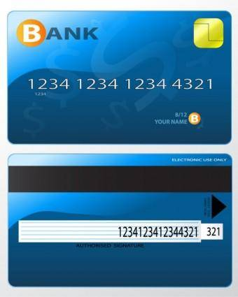 free vector Bank card fine 04 vector