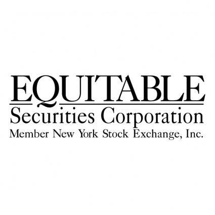 Equitable securities corporation