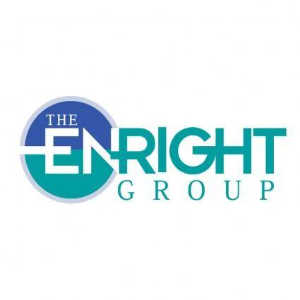 free vector Enright group