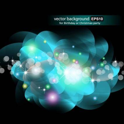 Gorgeous bright starlight effects 07 vector