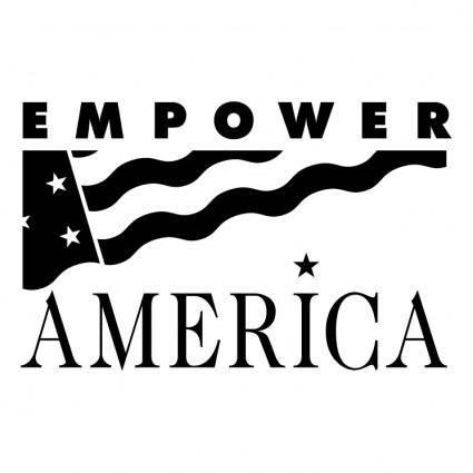 free vector Empower america