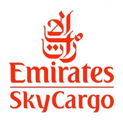 free vector Emirates skycargo
