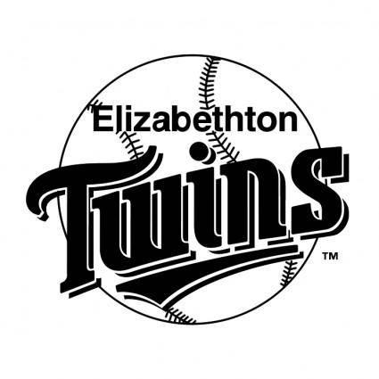 free vector Elizabethton twins