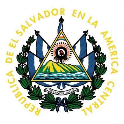 free vector El salvador