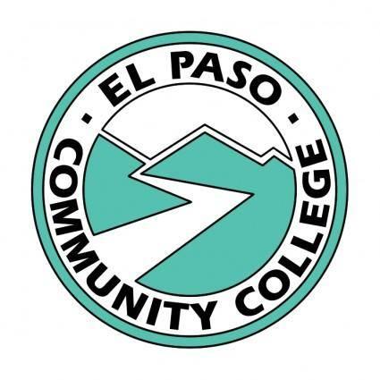 free vector El paso community college