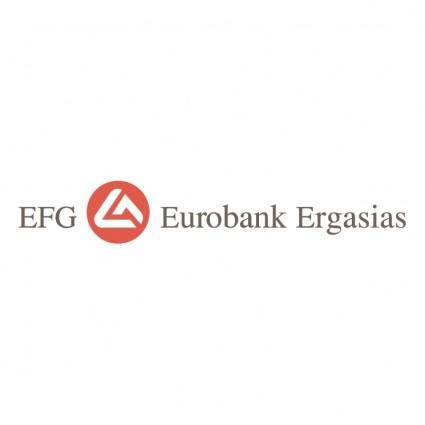 free vector Efg eurobank ergasias