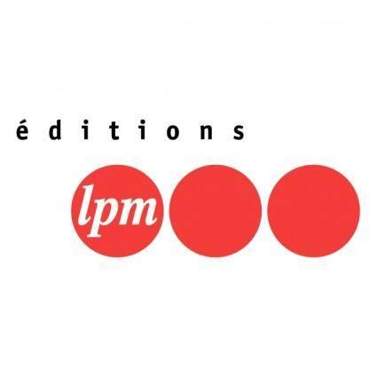 Editions lpm