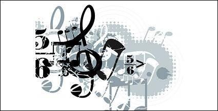 free vector Music vector design elements