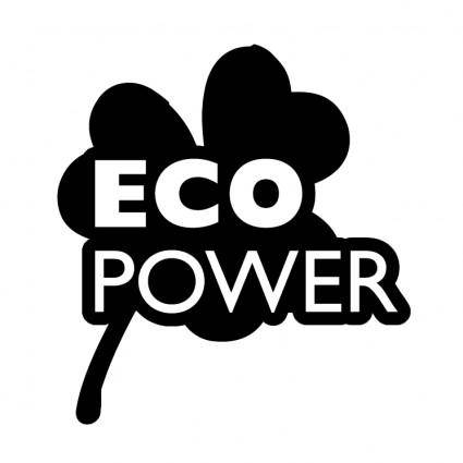 free vector Eco power 0
