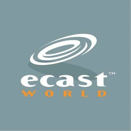 free vector Ecast world