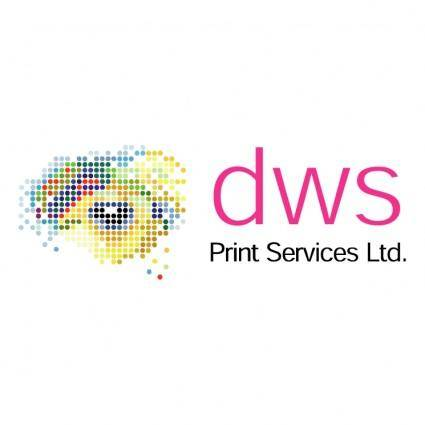 free vector Dws print services