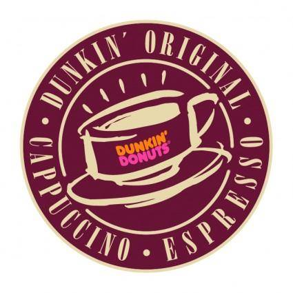 free vector Dunkin donuts 1