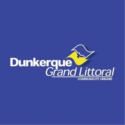 free vector Dunkerque grand littoral