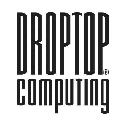 free vector Droptop computing