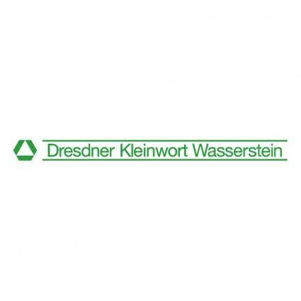 Dresdner kleinwort wasserstein