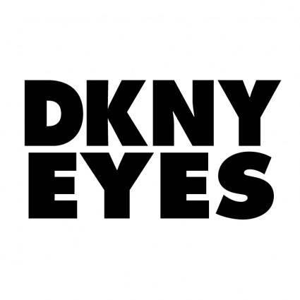 free vector Dkny eyes