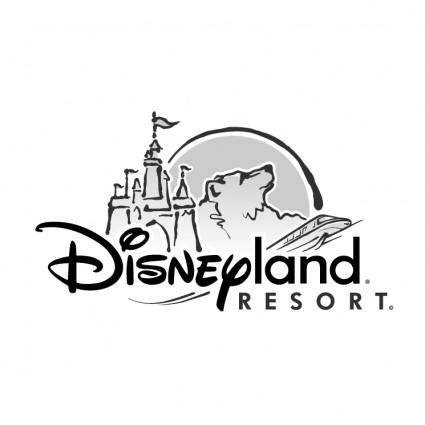 free vector Disneyland resort