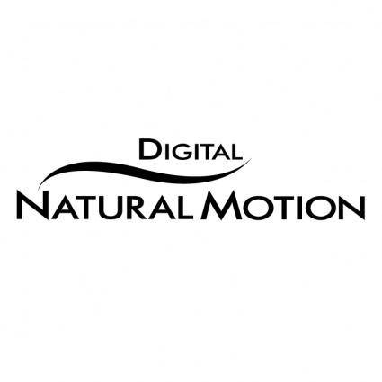 Digital naturalmotion