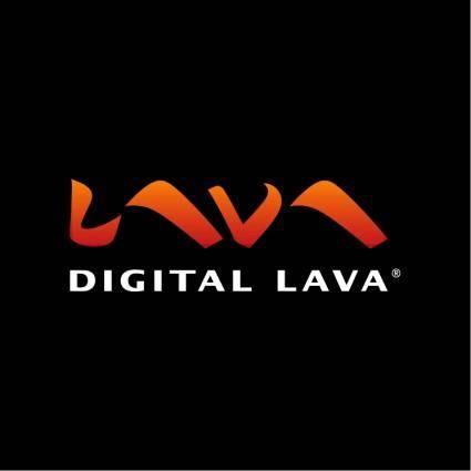 free vector Digital lava 0