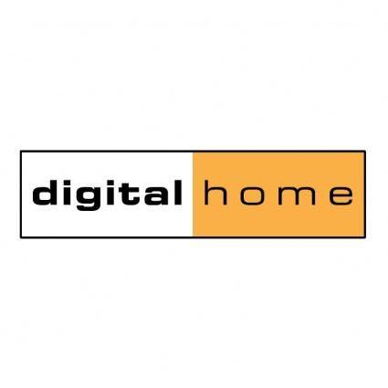 free vector Digital home