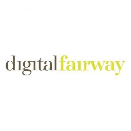 free vector Digital fairway
