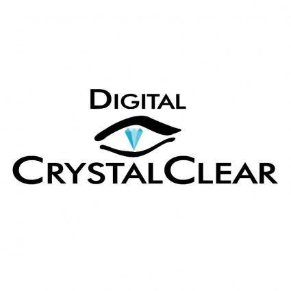 free vector Digital crystalclear
