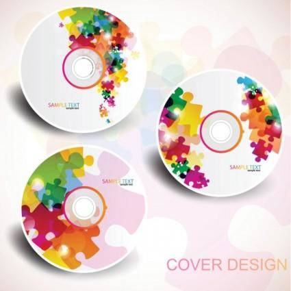 free vector Brilliant trend cd03 vector