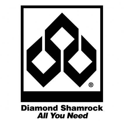 free vector Diamond shamrock