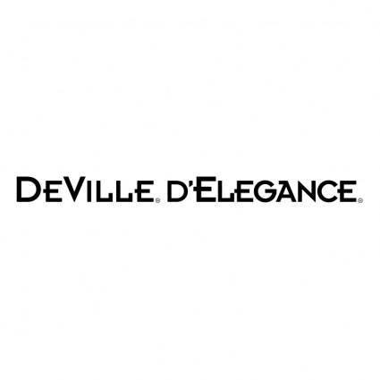 free vector Deville delegance