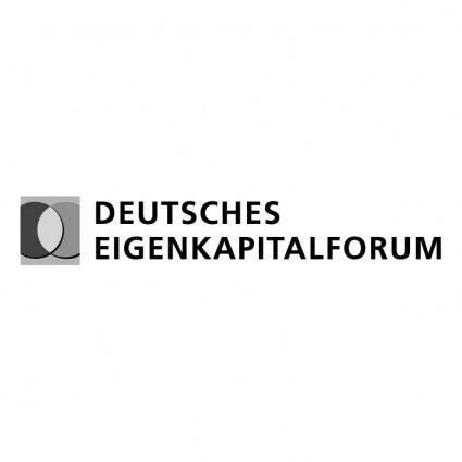 Deutsches eigenkapitalforum