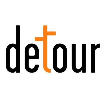 free vector Detour inc