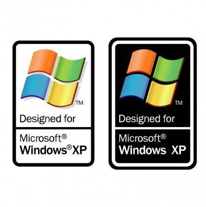 free vector Designed for microsoft windows xp