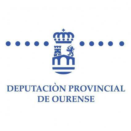 free vector Deputacion provincial de ourense