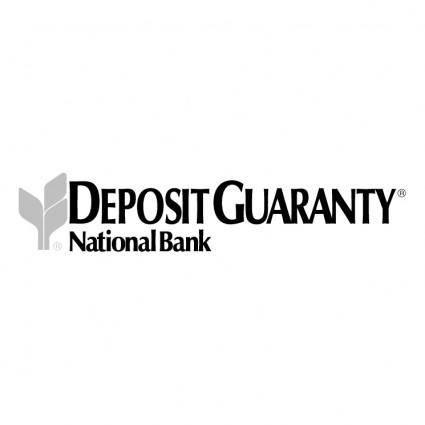 Deposit guaranty