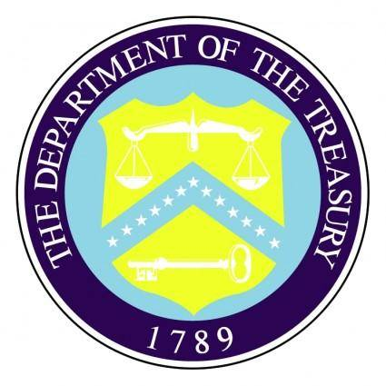 free vector Department of the treasury