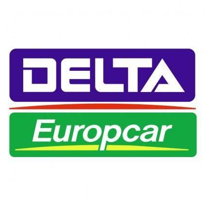 free vector Delta europcar