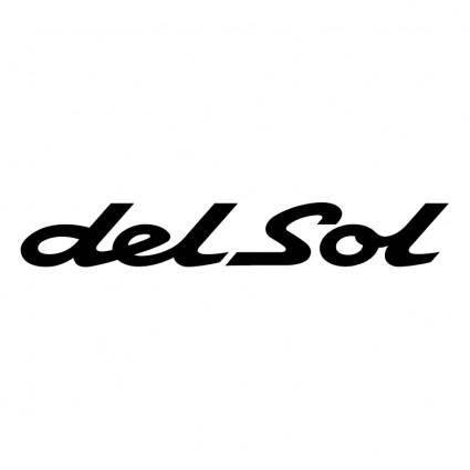 free vector Del sol