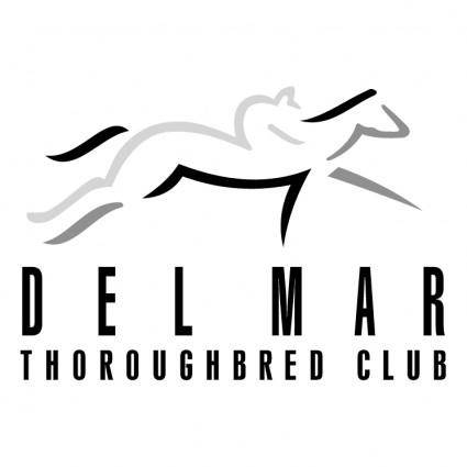 free vector Del mar thoroughbred club