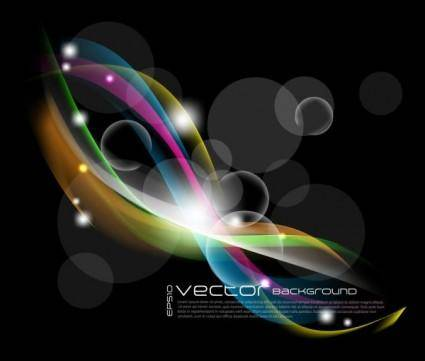 free vector Gorgeous bright starlight effects 08 vector