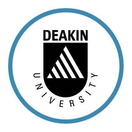 free vector Deakin university