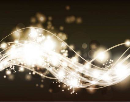 Gorgeous bright starlight effects 10 vector
