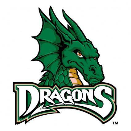 free vector Dayton dragons