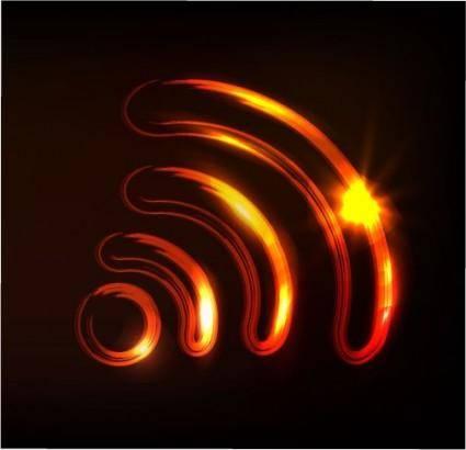 free vector Glare signal vector