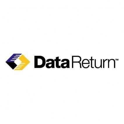 Data return