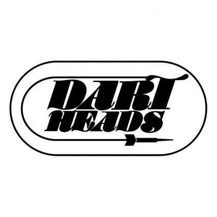 free vector Dart heads